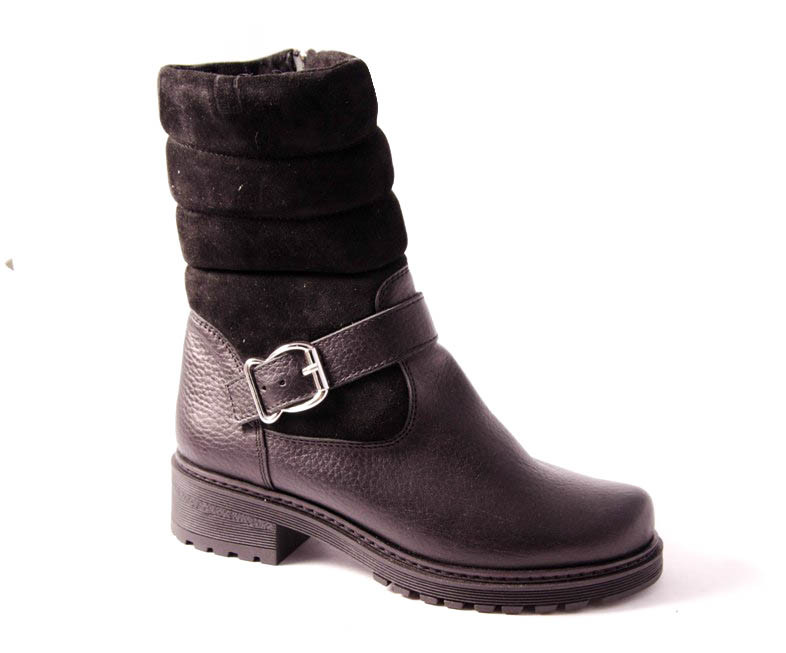 Ботинки женские черные Romani 2481315/2 р.36-41, фото 1