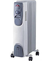 🔝 Обогреватель масляный, Luxel Oil-Filled Heater 7 Fins 1500W, конвектор электрический , радиатор   🎁%🚚