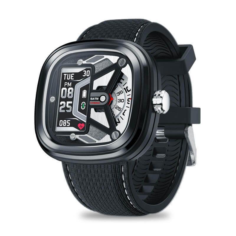 Zeblaze HYBRID 2 гибридные смарт-часы - Черный