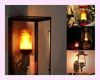 Лампа з ефектом полум'я LED Flame Bulb, фото 1