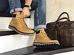 Мужские ботинки Levis (горчичные) ЗИМА, фото 4