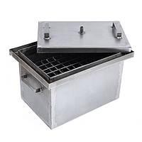 Коптильня (коптилка) горячего копчения (2 мм, сталь, средняя)