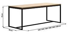 Обеденный стол в стиле LOFT (NS-963247019), фото 3