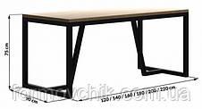 Обеденный стол в стиле LOFT  (NS-963247029), фото 3