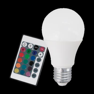 Лампа Eglo диммируемая RGB с пультом LM LED E27 3000K 10107