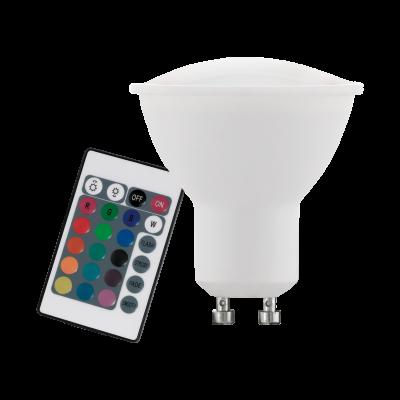 Лампа Eglo диммируемая RGB с пультом LM LED GU10 3000K 10686