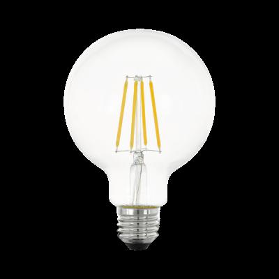Лампа Eglo филаментная 3 кроки регулювання яскравості LM LED E27 G95 2700K 11752