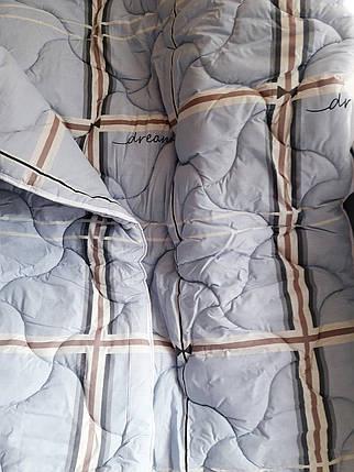 """Двуспальное одеяло на овчине """"№540"""" (172х205), фото 2"""