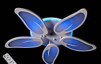 Стельова LED люстра 8096/5WH dimmer-2, фото 1