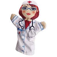 Кукла на руку Доктор 00654-50