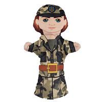Кукла на руку Военнослужащий 00654-7