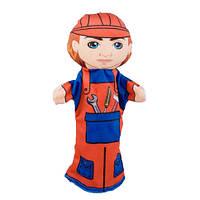 Кукла на руку Строитель 00654-9