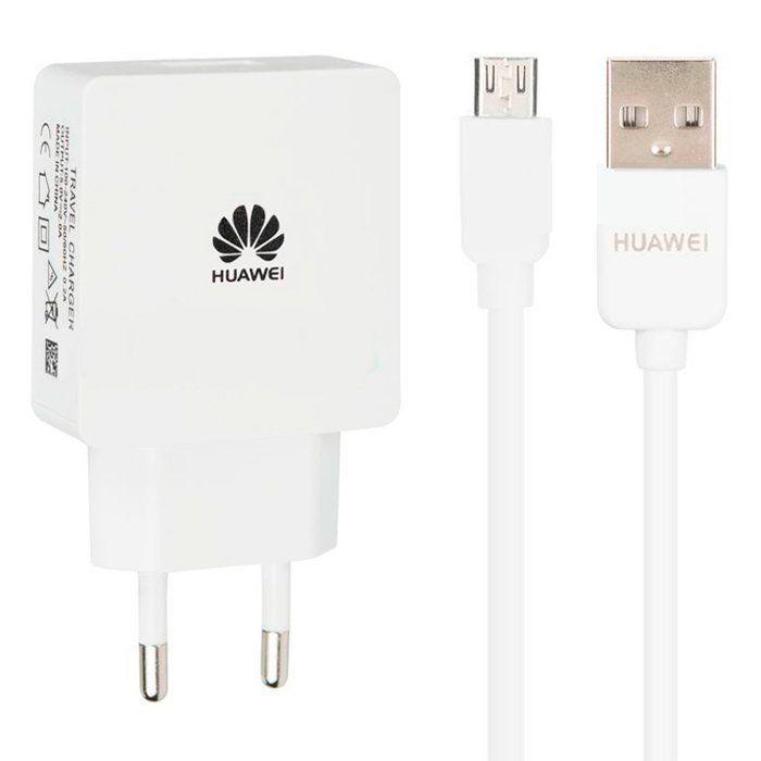 Сетевое зарядное устройство Huawei A60 2in1 Micro USB 1USB Port Fast Charge