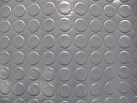 Автолинолеум на метраж Ширина 2 м Сіра Монетка Туреччина