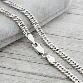 Серебряные цепочки без покрытия