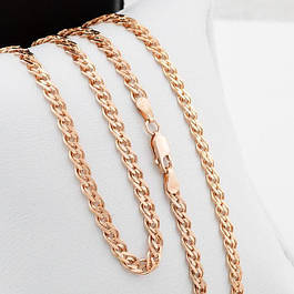 Серебряные позолоченные цепочки