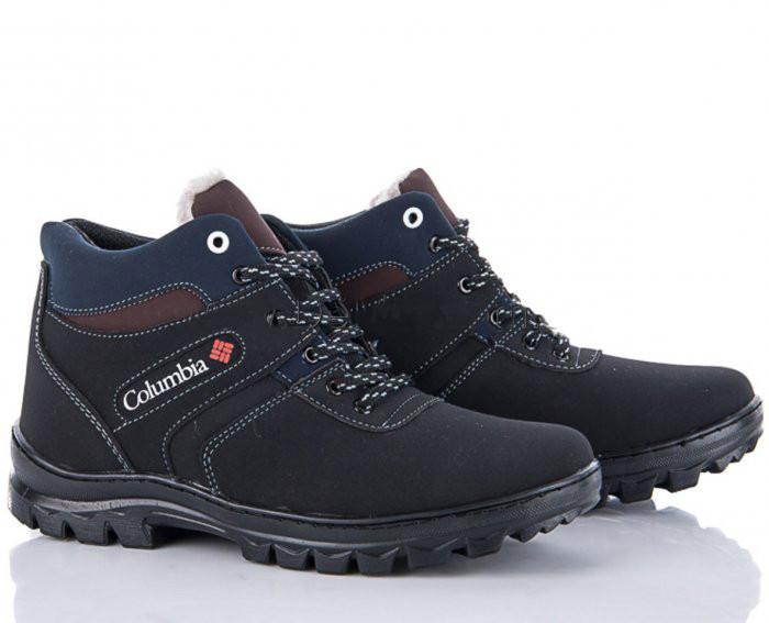 Мужские зимние ботинки в стиле Columbia Размер 44. Прошитые, с мехом.