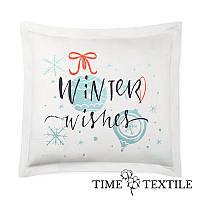 Новогодняя подушка Winter Wishes