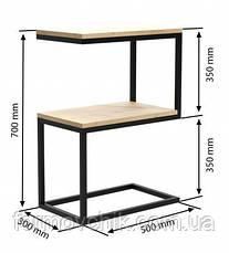Приставной столик в стиле LOFT (NS-963247064), фото 2