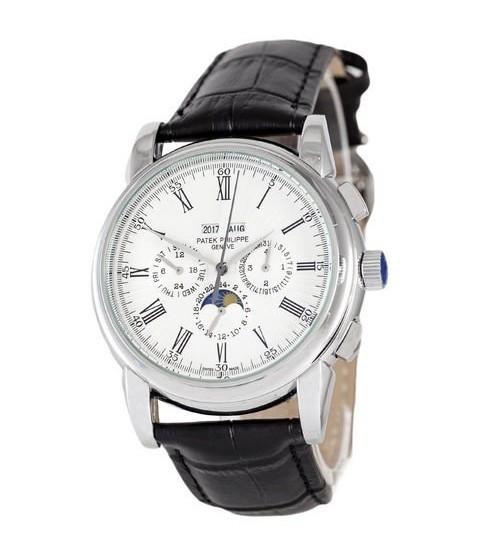 Мужские часы Patek Philippe Grand Complications 5204 Roman AA, элитные часы Patek Philippe реплика АА