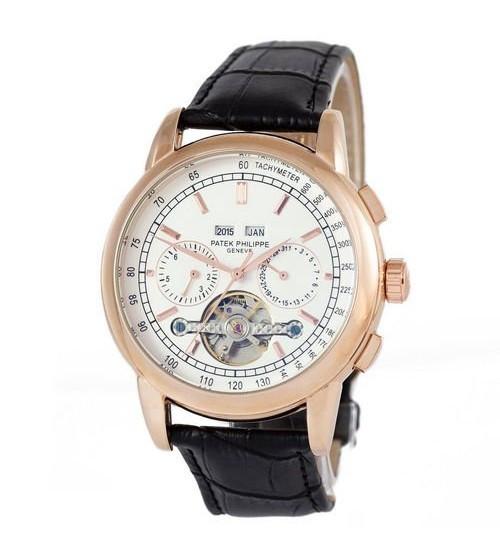 Мужские часы Patek Philippe Grand Complications Tourbillon AA, элитные часы Patek Philippe реплика АА