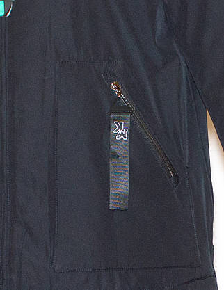 Парка зимова жіноча з хутром  (48) Vinacly 9081, фото 2