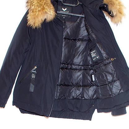 Парка зимова жіноча з хутром  (48) Vinacly 9081, фото 3