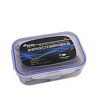 Dental impression trays, набор 12 шт, пластмассовые оттискные ложки