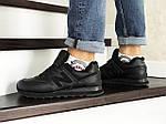 Мужские кроссовки New Balance 574 (черные) ЗИМА, фото 4