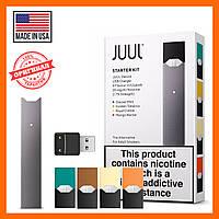 Оригинал Juul Starter Kit из США. Вейп, электронная сигарета Джул + 4 Картриджа.