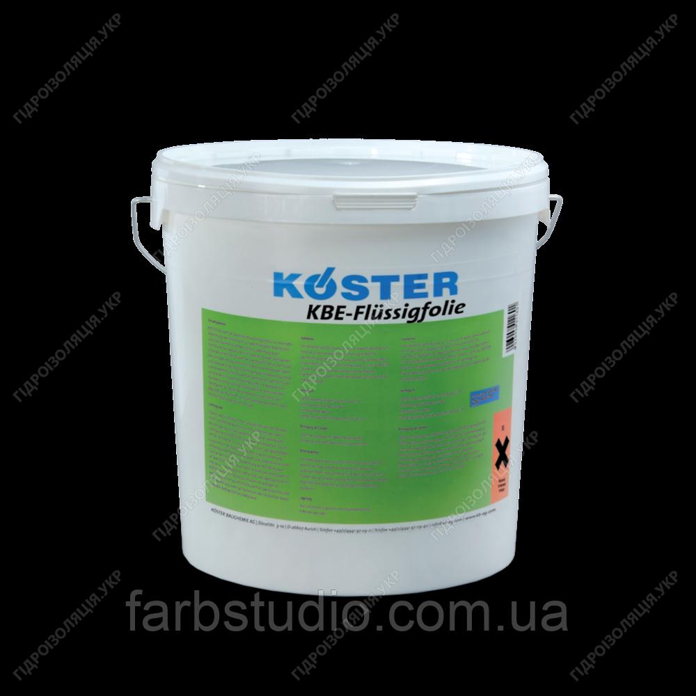 Гидроизоляция гибридная и полимерная , жидкие мембраны KOSTER KBE-FLUSSIGFOLIE, 6 кг