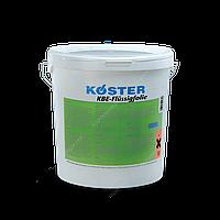 Гибридная и полимерная гидроизоляция, жидкие мембраны KOSTER KBE-FLUSSIGFOLIE, 6 кг