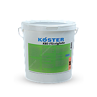 Гідроізоляція гібридна і полімерна , рідкі мембрани KOSTER KBE-FLUSSIGFOLIE, 6 кг