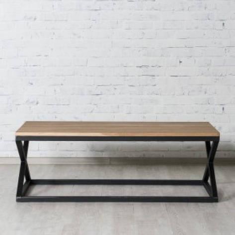 Кофейный Журнальный столик в стиле LOFT (NS-963247081), фото 2