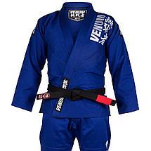 Кимоно для джиу-джитсу Venum Challenger 4.0 BJJ Gi Blue, фото 3