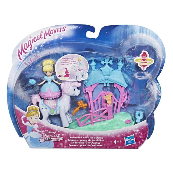 Кукла Hasbro Disney Princess Золушка 7.5 см-Маленькая кукла принцесса, E0249 PONY RIDE STABLE CINDERELLA