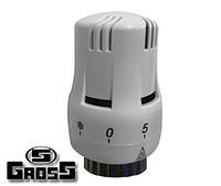 Термостатическая головка Gross TRV-01 с жидкостным датчиком
