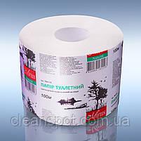Туалетная бумага белая однослойная джамбо 100м Mirus, Акция! 54 рулона по цене 36 рулонов!, фото 4