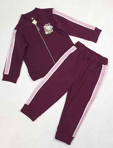 Дитячий спортивний костюм для дівчинки р. 92-110 опт, фото 2