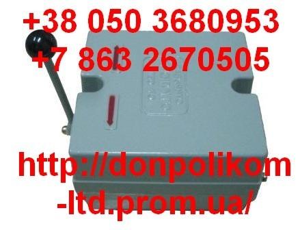 Контактная аппаратура управления крановыми электроприводами