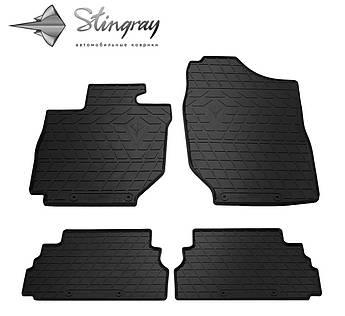 SUZUKI Jimny 2018- Комплект из 4-х ковриков Черный в салон
