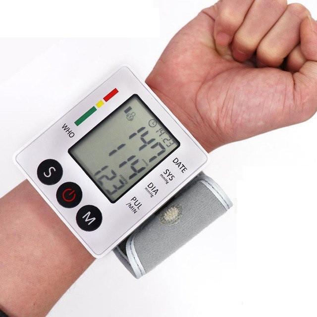Тонометр на Запястье автоматический (Измеритель Давления)