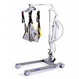 Електричний Підйомник для купання і транспортування пацієнта до 150 кг Vermeiren EAGLE 620 Patient Lift Demo, фото 3