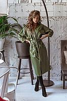 АА3734 Ультрамодное женское платье Эко-кожа