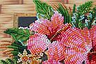 Набор-миди для вышивки бисером Цветы Танзании (20 х 20 см) Абрис Арт AMB-026, фото 2