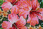 Набор-миди для вышивки бисером Цветы Танзании (20 х 20 см) Абрис Арт AMB-026, фото 5