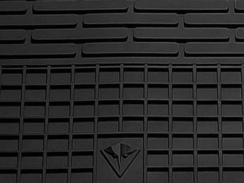 Smart Fortwo III (C453) 2014- Комплект из 2-х ковриков Черный в салон