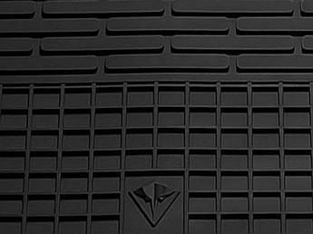 Smart Fortwo III (C453) 2014- Водительский коврик Черный в салон