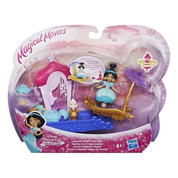 Кукла Hasbro Disney Princess Жасмин 7.5 см-Маленькая кукла принцесса E0248 MAGIC CARPET RIDE JASMINE