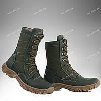 Берцы зимние / военная, тактическая обувь ДЕЛЬТА (оливковый)